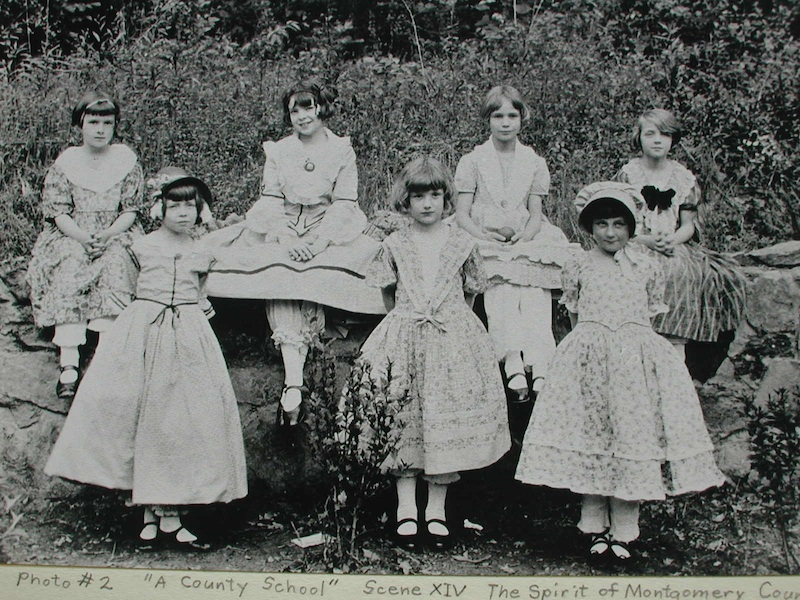 Somerset Children in Costume for a 1928 Pageant