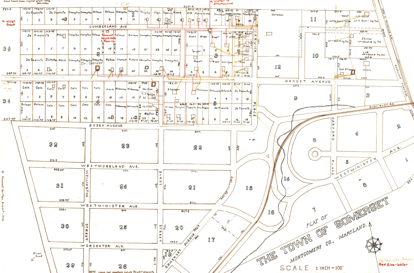 Original Somerset Heights Map