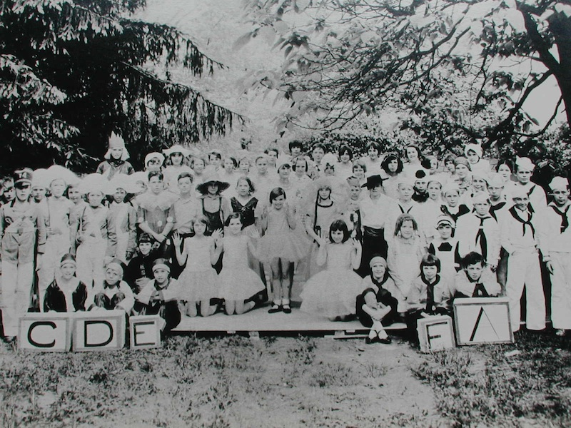 Somerset School Production of TOYLAND in 1930